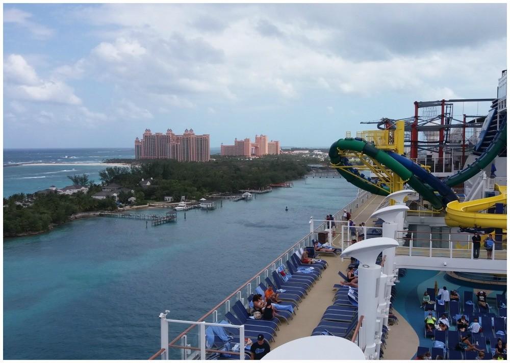 Atlantis on Nassau seen from the cruise ship