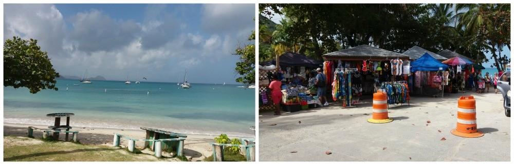 Cane Garden Bay Beach on Tortola island