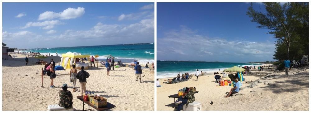 Cabbage Beach on Paradise island Nassau