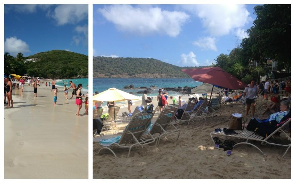 Coki beach on St Thomas USVI