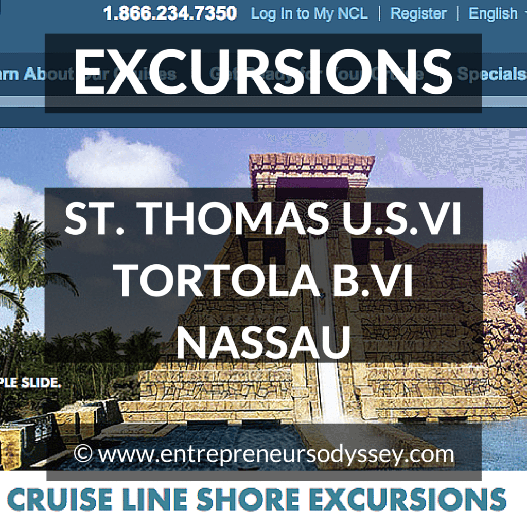 NORWEGIAN CRUISE LINE SHORE EXCURSIONS