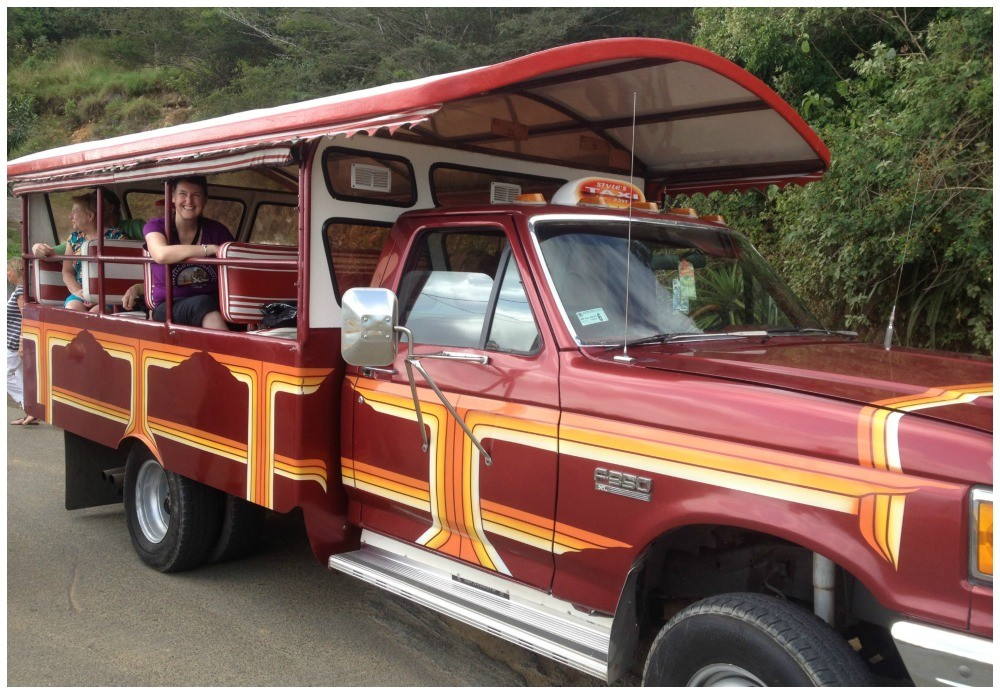 Open air taxi - tour service in Tortola