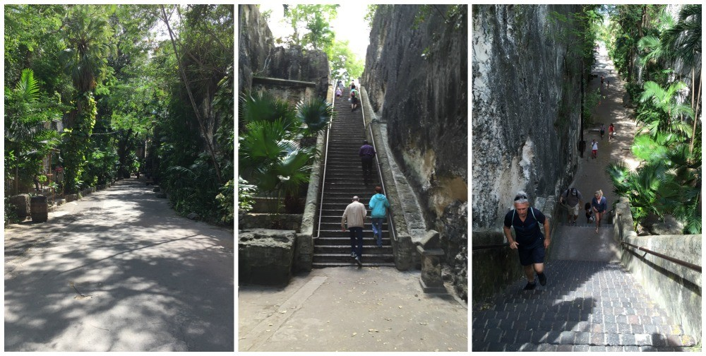 The Queens Staircase 66 steps