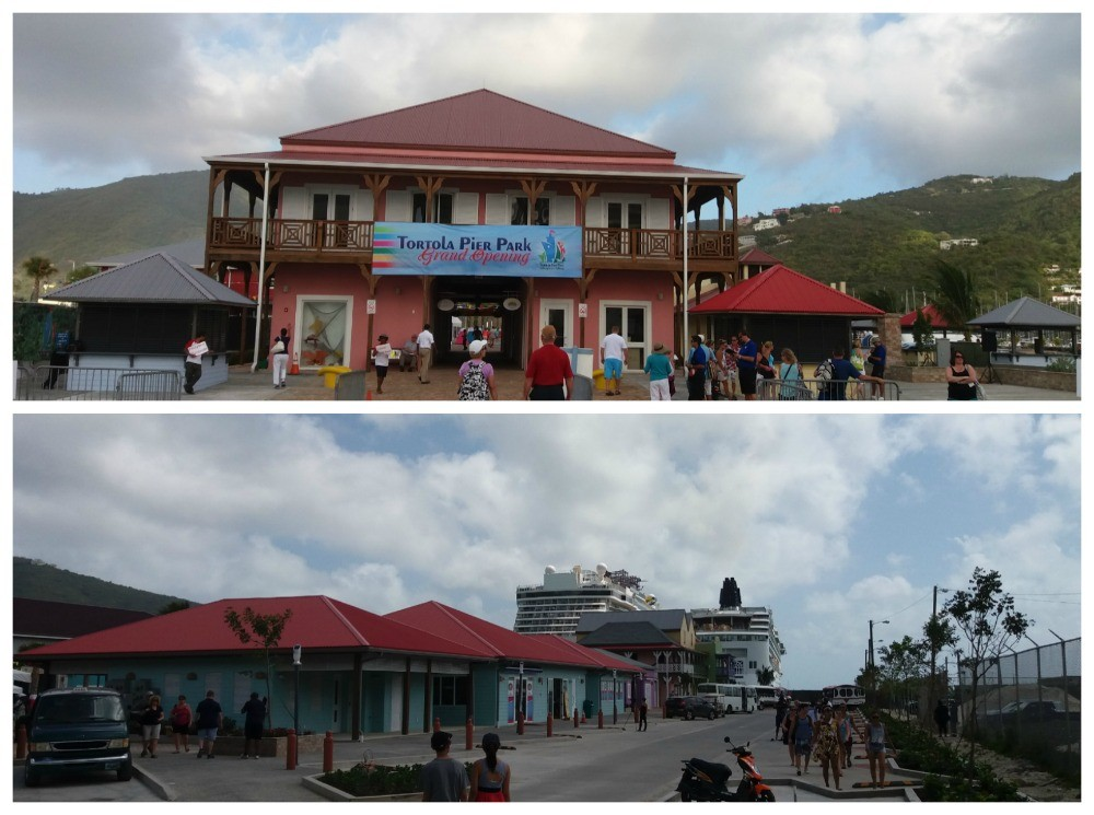 Tortola cruise port pier park