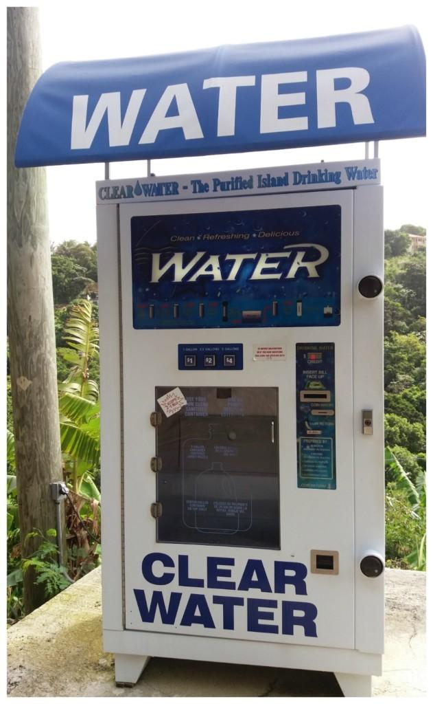 Tortola island water stations
