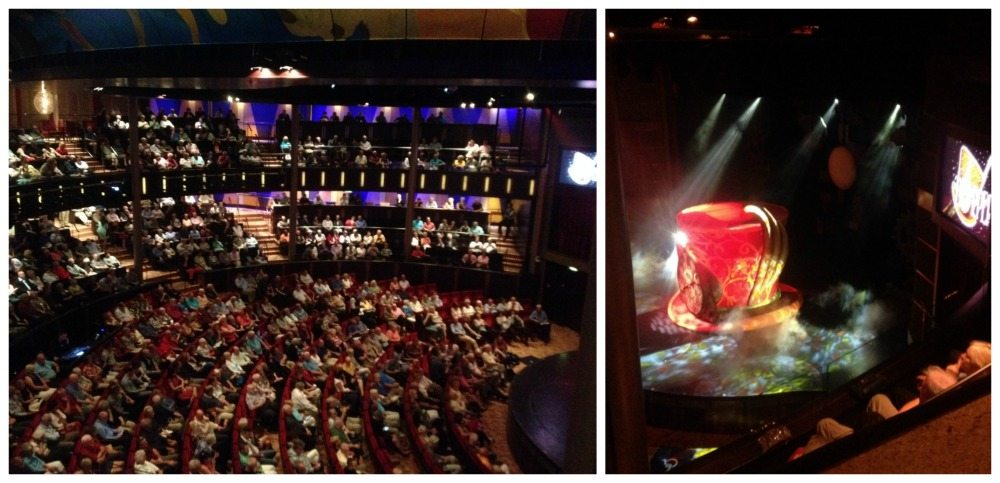 A packed theatre for tonight's show 'Topper'