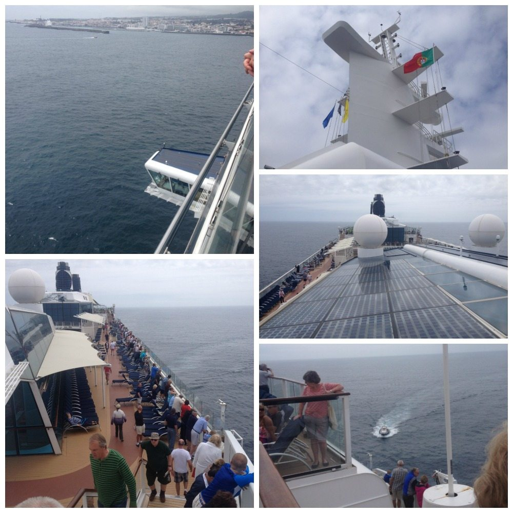 An unscheduled stop in the Azores
