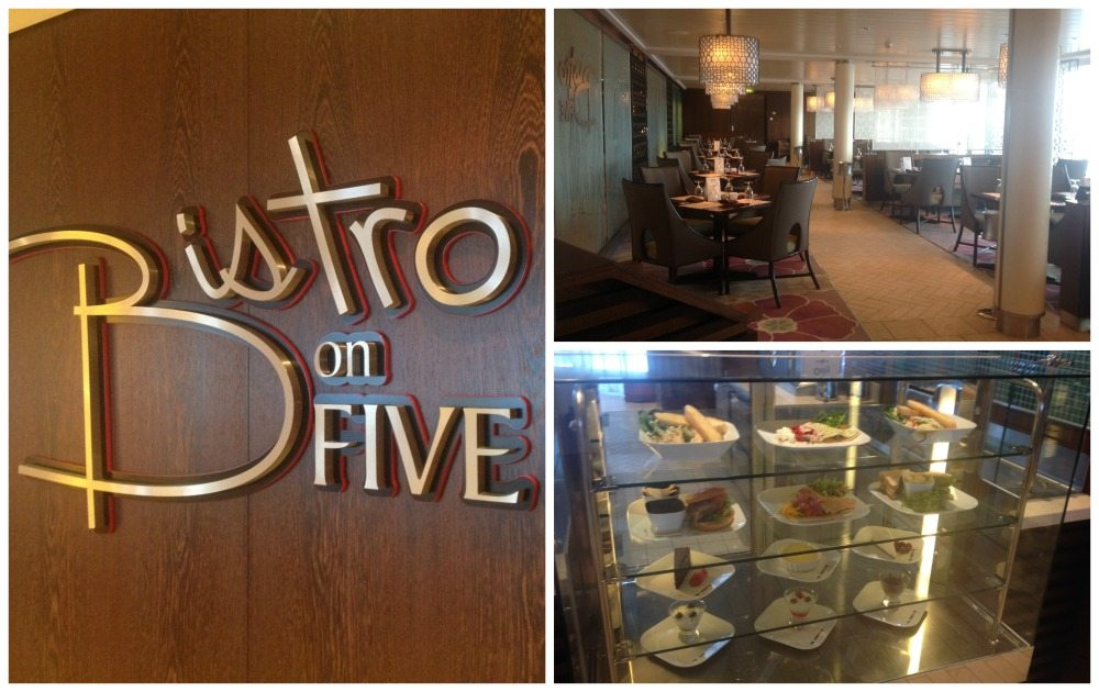Bistro on Five Celebrity Eclipse