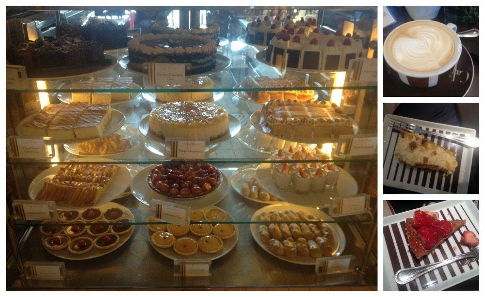 Cakes from Café al Bacio on Celebrity Eclipse