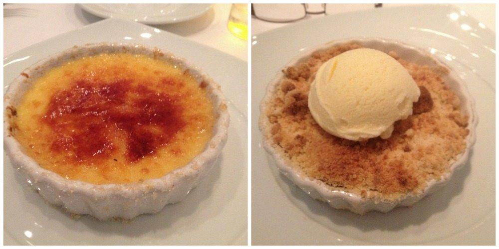 Celebrity Eclipse desserts Moonlight Sonata restaurant
