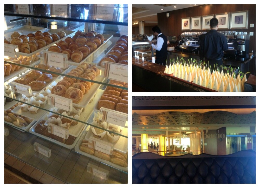 Danish pastries @ Café al Bacio on Celebrity Eclipse