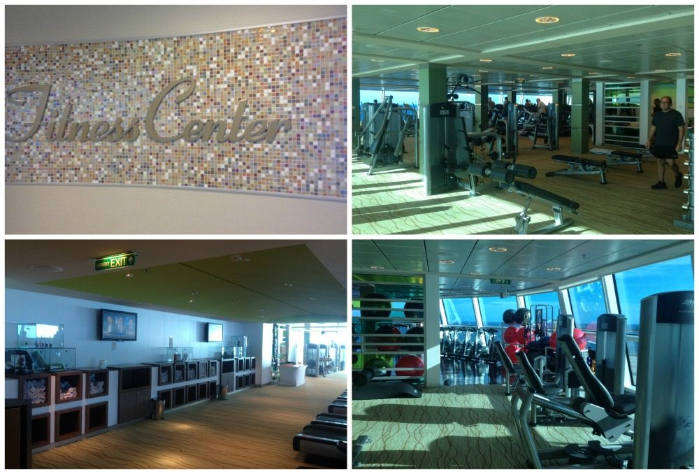 Fitness Center on Celebrity Eclipse