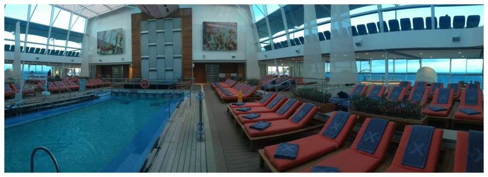 Indoor pool & Solarium on Celebrity Eclipse