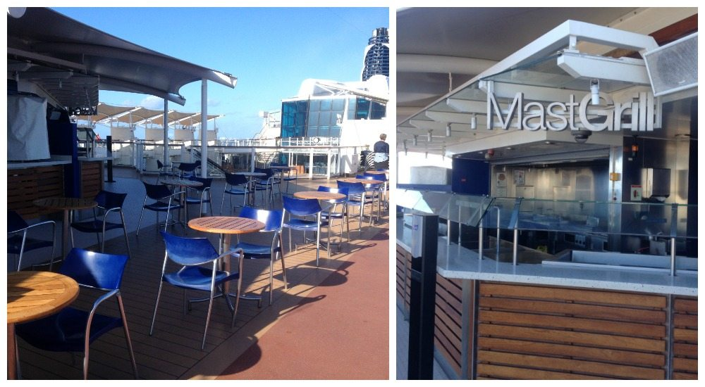 Mast Grill on Celebrity Eclipse