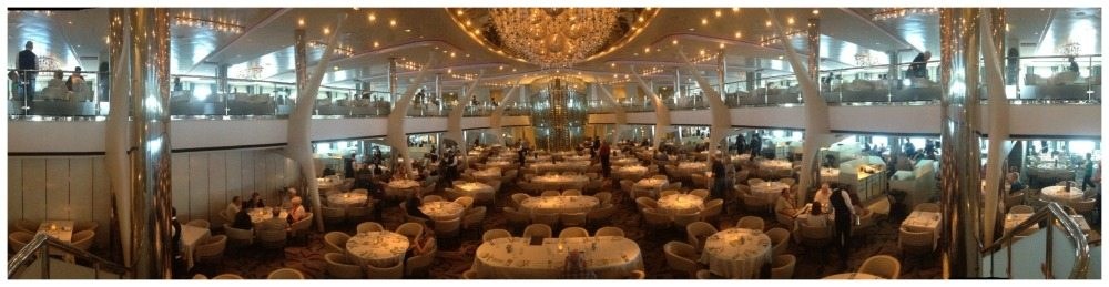 Moonlight Sonata dining room on Celebrity Eclipse