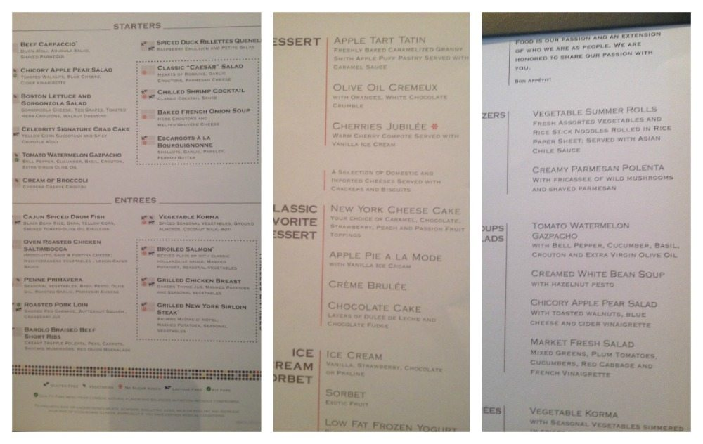 Moonlight Sonata menus