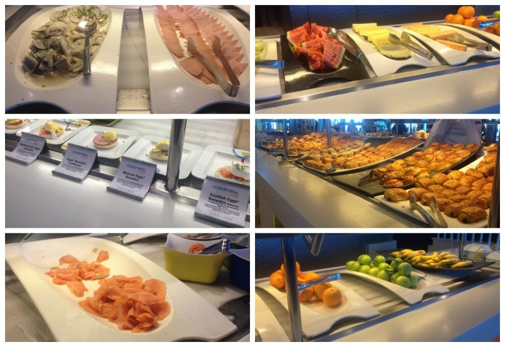 More breakfast items from the Oceanview buffet