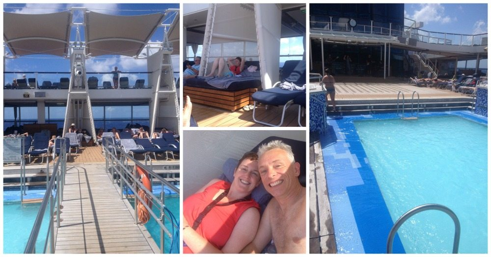 Pool life on the Celebrity Eclipse