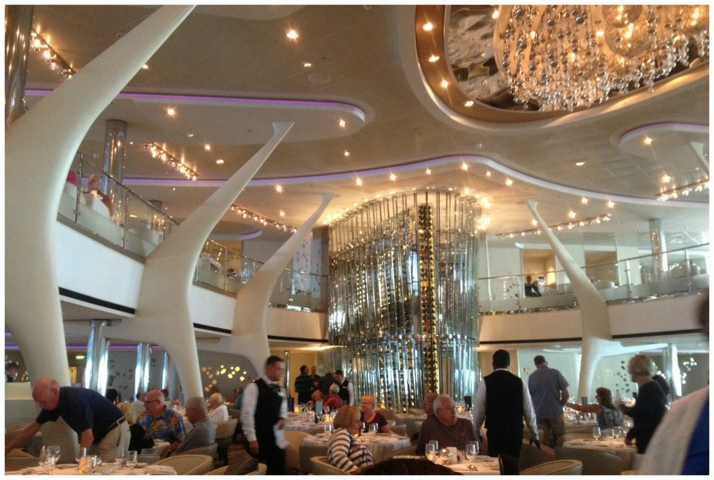 Moonlight Sonata restaurant on Celebrity Eclipse