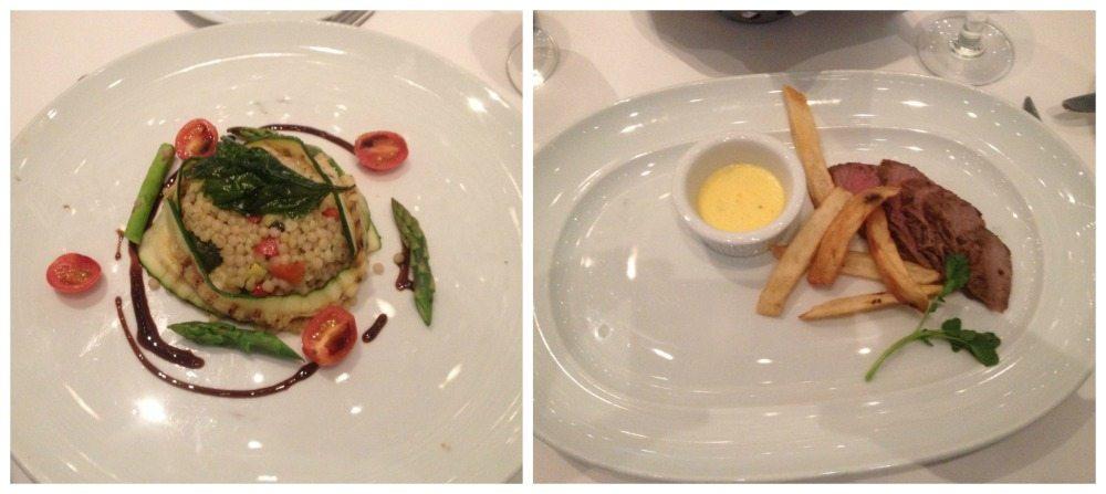 Sonata restaurant dinner menu main meals 18.4.16