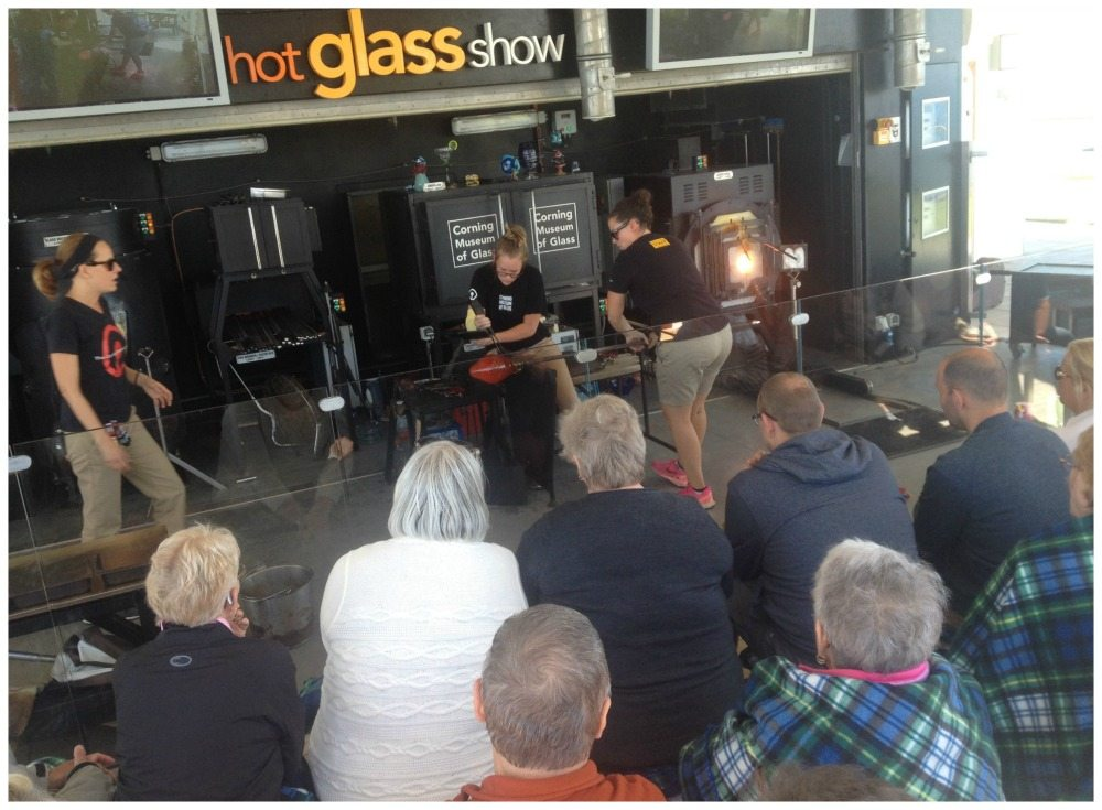 The Hot Glass Show on Celebrity Eclipse