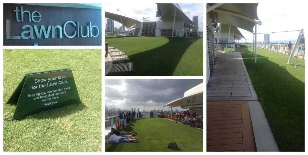 The Lawn Club on Celebrity Eclipse