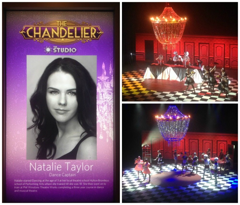 Tonight's Eclipse production was 'Chandelier'
