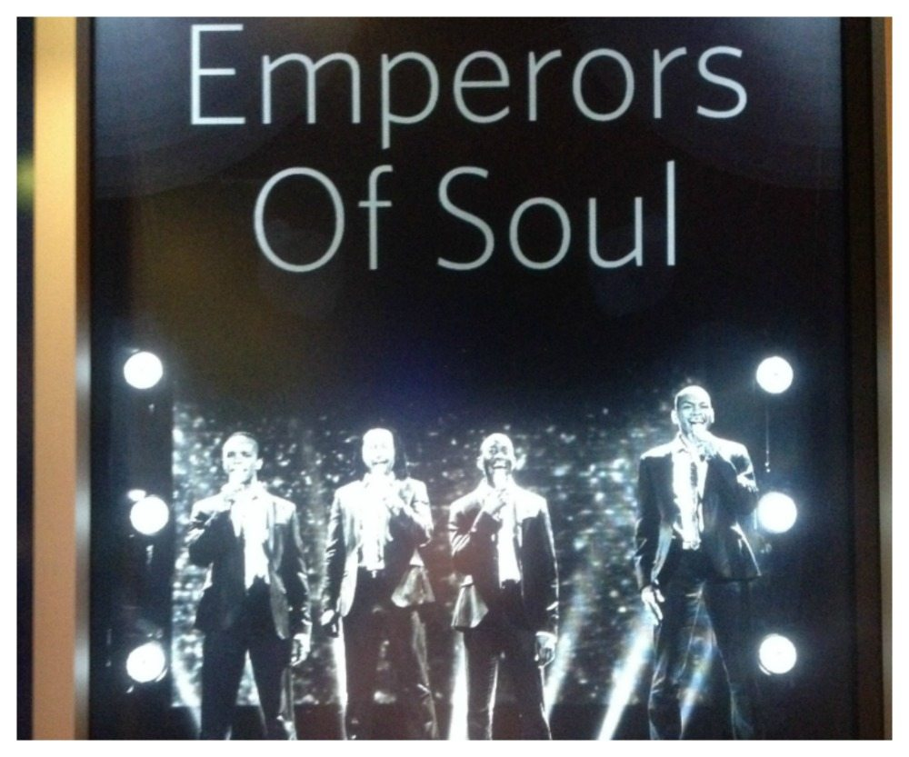 Tonight's show on the Eclipse, Emperors of Soul