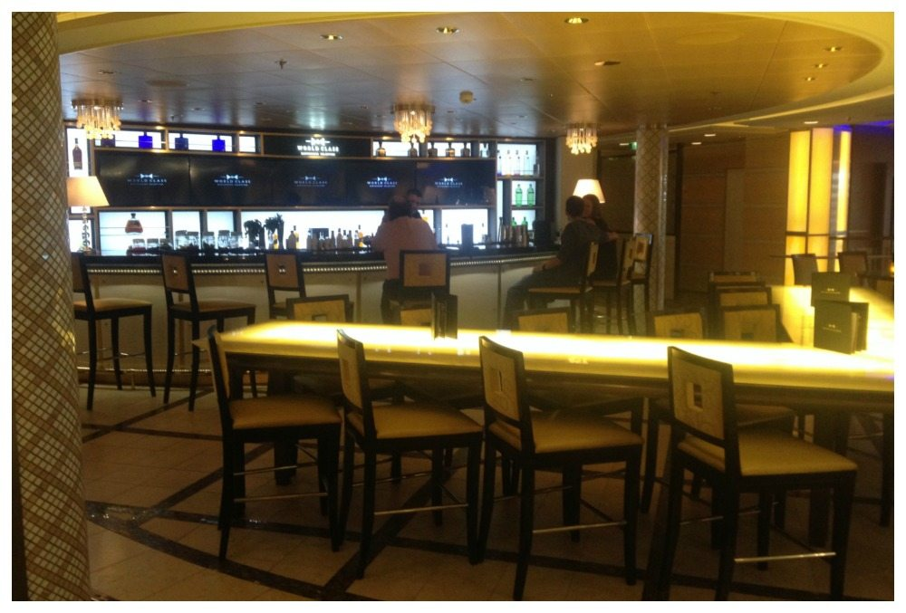 World Class Bar on Celebrity Eclipse