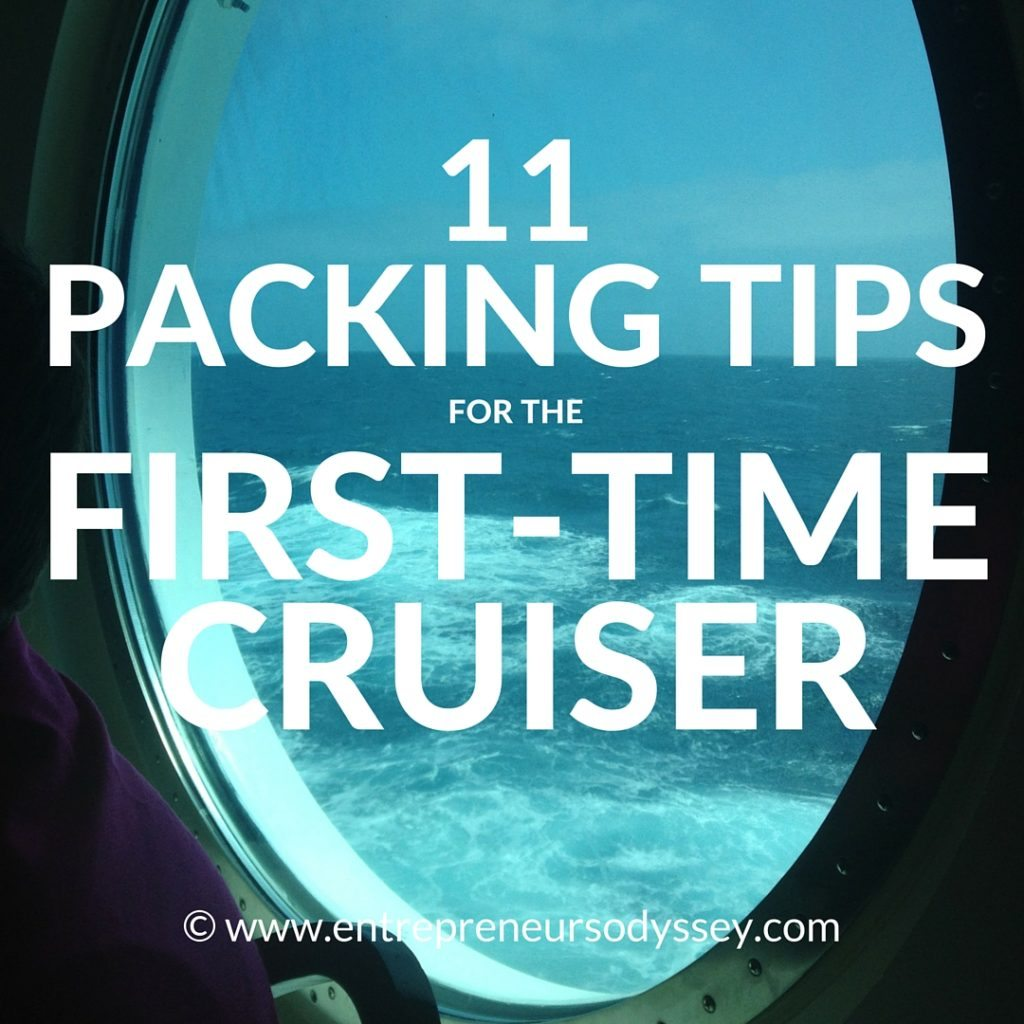 11 PACKING TIPS FOR THE FIRST-TIME CRUISER