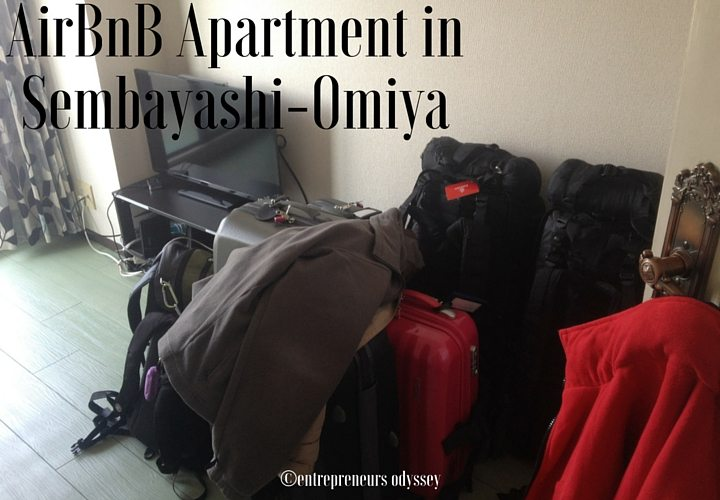 AirBnB Apartment in Sembayashi-Omiya