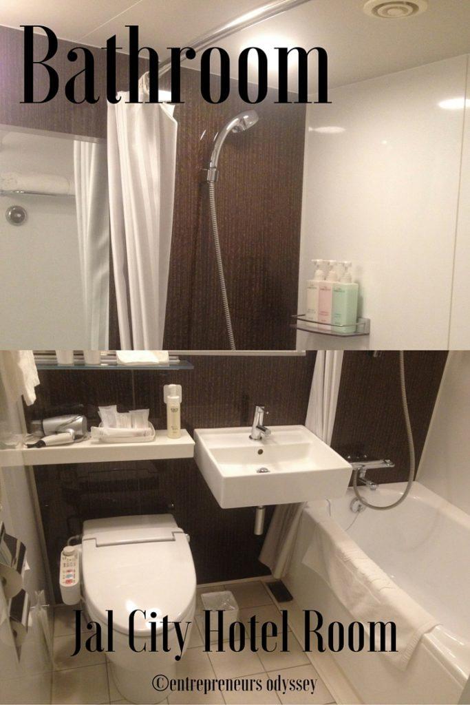 Bathroom Hotel Jal City in Yokohama, Japan
