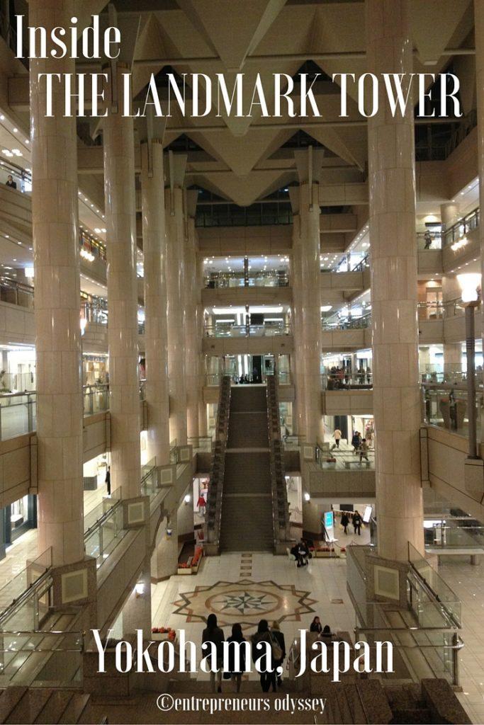 Inside The Landmark Tower, Yokohama, Japan
