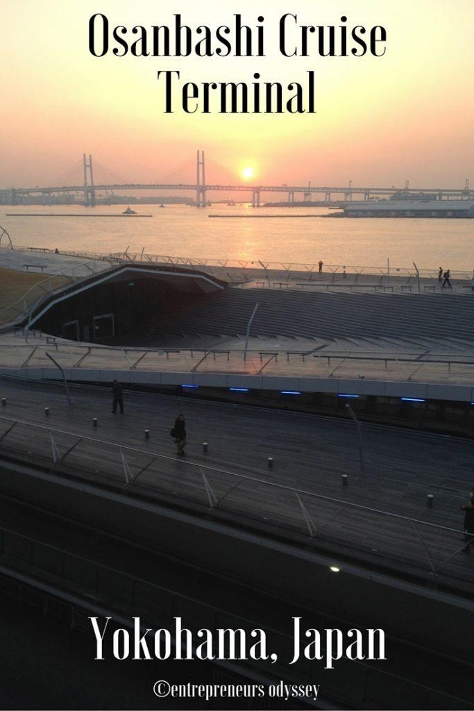 Osanbashi Cruise Terminal Yokohama, Japan