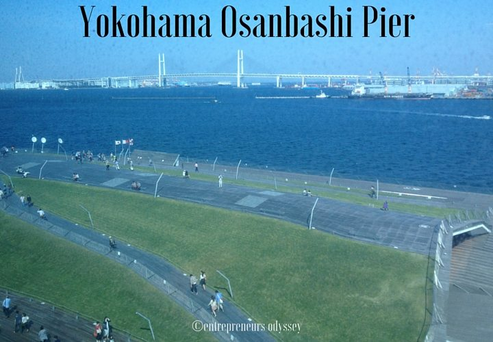 Osanbashi Pier Rooftop Plaza in Yokohama, Japan