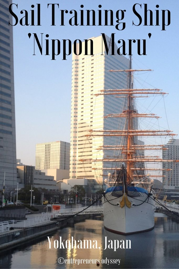 Sail Training Ship Nippon Maru, Yokohama, Japan
