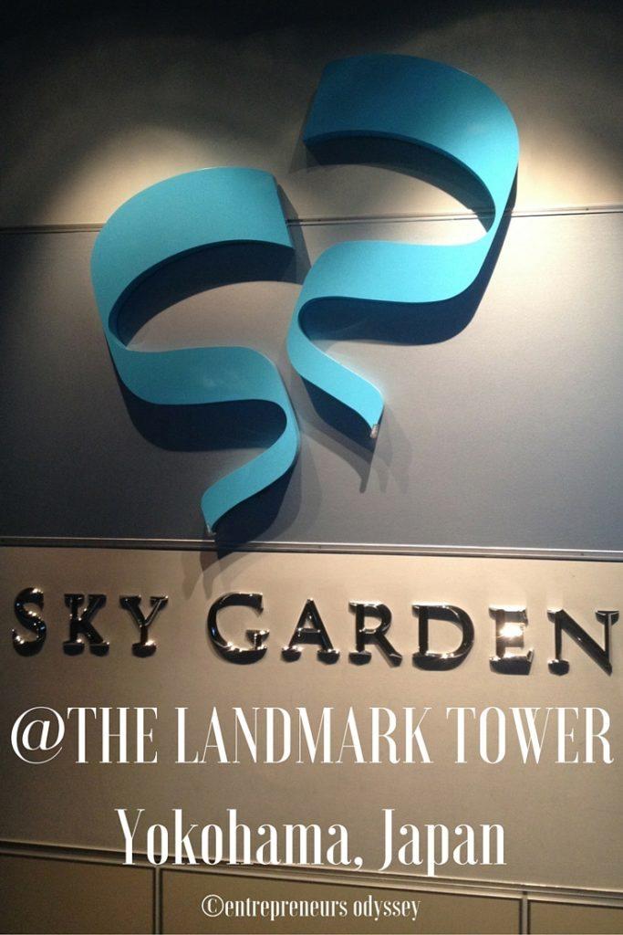 Sky Garden at The Landmark Tower, Yokohama, Japan