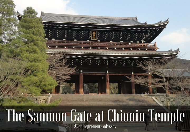 Chion In Temple In Higashiyama Area Of Kyoto Entrepreneur S Odyssey