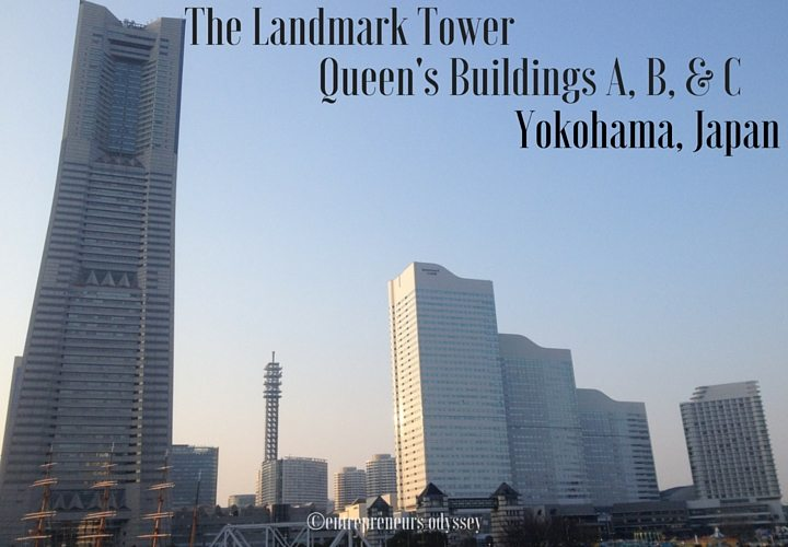 Three Queen's Buildings A,B & C in Yokohama, Japan
