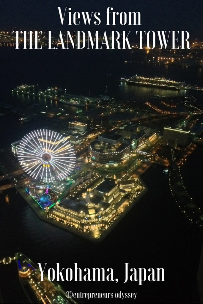 Views from The Landmark Tower, Yokohama, Japan (1)