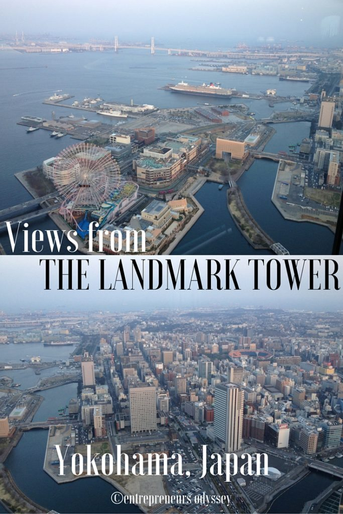 Views from The Landmark Tower, Yokohama, Japan (2)