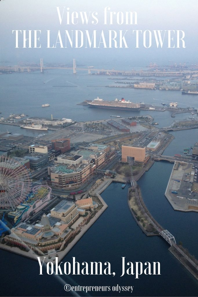 Views from The Landmark Tower, Yokohama, Japan
