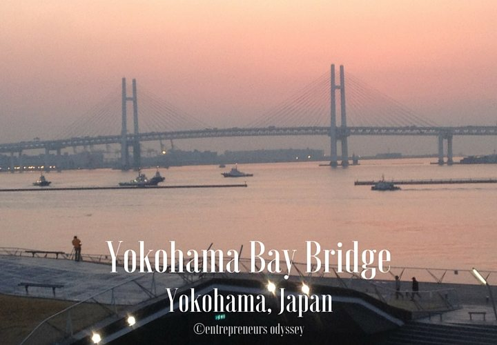 Yokohama Bay Bridge in Yokohama, Japan