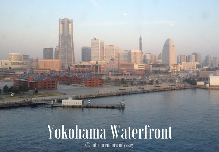 Yokohama waterfront in Yokohama, Japan