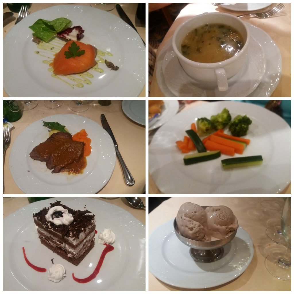 A selection from our dinner meals