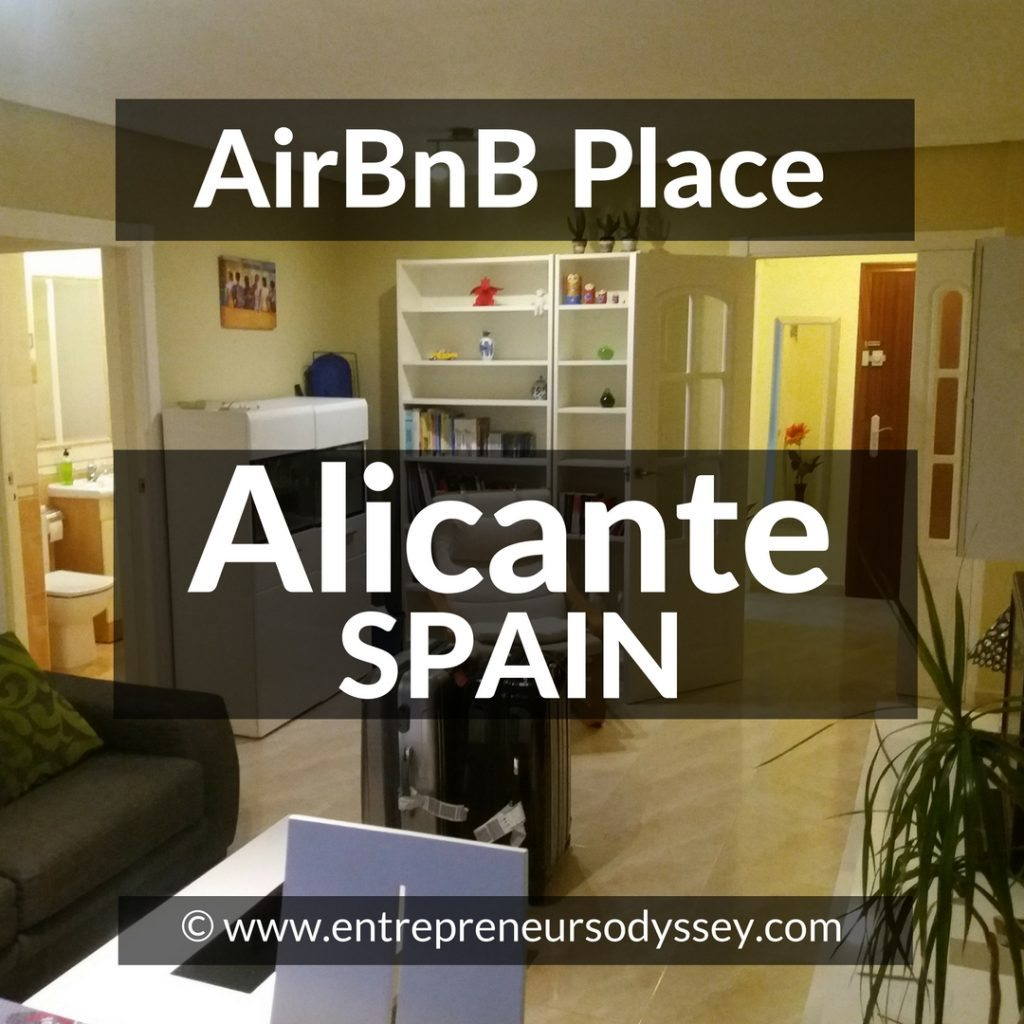 AirBnB in Alicante, Spain