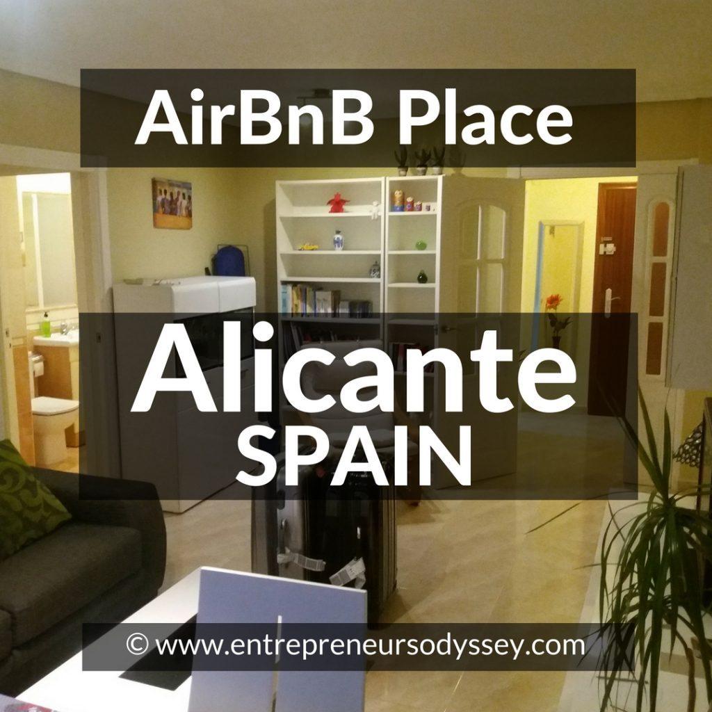 AirBnB in Alicante, Spain