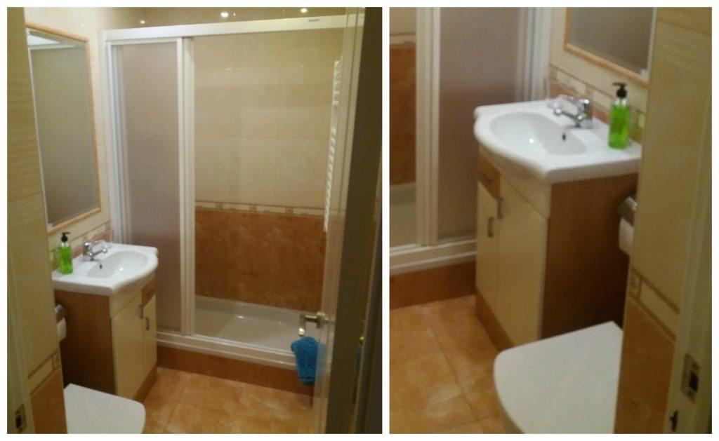 Bathroom AirBnB in Alicante