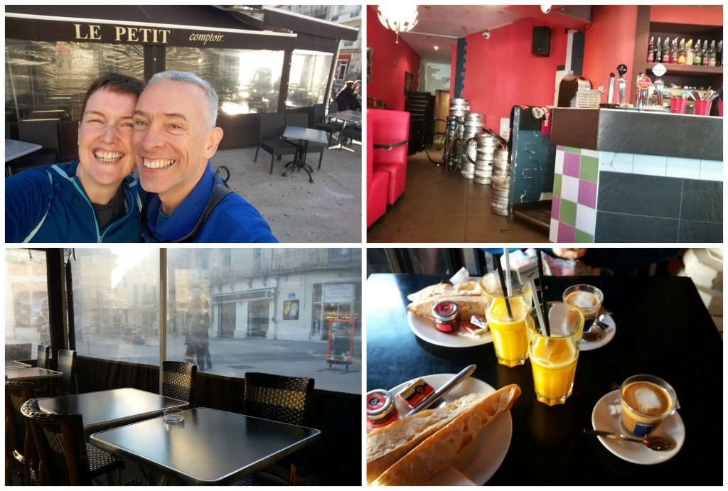 Breakfast in Le Peit Comptoir montpellier