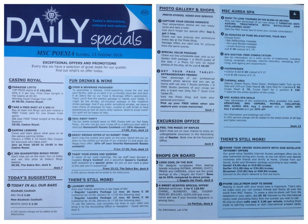 The daily special paper